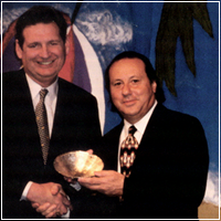 Oscar Carrescia and Bob Miller